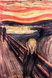 Una successiva versione dell'Urlo di Munch