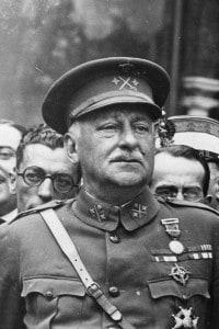 Foto di Miguel Primo de Rivera, generale e dittatore spagnolo