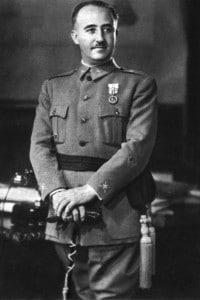 Il generale Francisco Franco