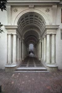 Galleria di Palazzo Spada, realizzata da Francesco Borromini