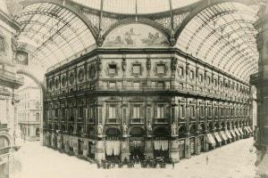 1880: Galleria Vittorio Emanuele II a Milano