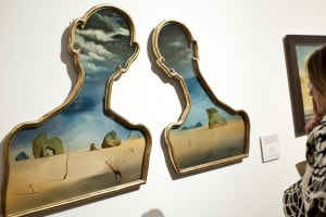 Salvador Dalì, Coppia con le teste piene di nuvole