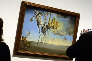 Salvador Dalì, La tentazione di Sant'Antonio