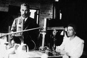 I coniugi Marie e Pierre Curie