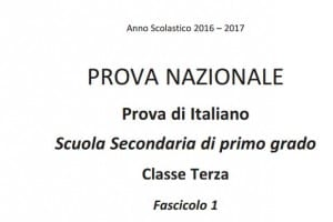 Domande test Invalsi italiano terza media 2017
