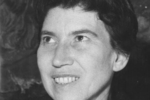 Natalia Ginzburg, autrice del saggio proposto agli studenti di terza media alle prove Invalsi 2017