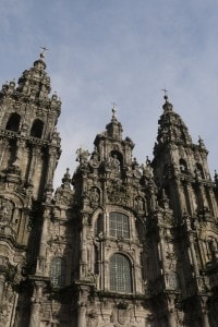 La cattedrale di Santiago di Compostela consacrata nel 1211
