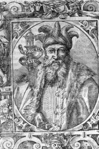 Circa 1170, Saladin (Salah al-Din al-Ayyubi, 1137 - 1193)