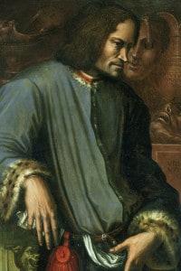 Lorenzo de' Medici dipinto dal Vasari