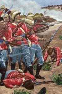 1898: l'esercito inglese attacca in Sudan