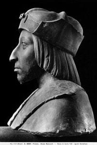 Carlo VIII: il Re di Francia fu protagonista, fra gli altri, delle battaglie contro i Visconti per il possesso sul Ducato di Milano
