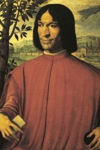 Lorenzo De' Medici in un ritratto di Girolamo Macchietti