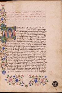 Opera miniata di Giovanni Boccaccio