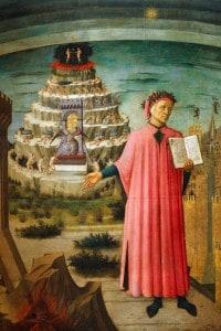 """Dante Alighieri, che nella sua Divina Commedia cita Giacomo da Lentini appellandolo """"Notaro"""""""