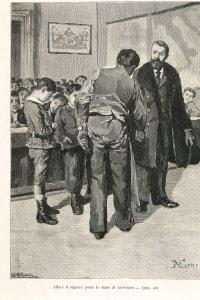 Illustrazione del libro Cuore