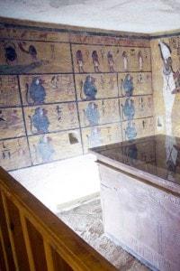 Copia della tomba di Tutankhamon realizzata per preservare l'originale