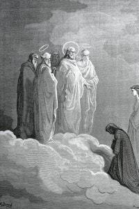 Dante Alighieri in una immagine per il canto XXVI del Paradiso