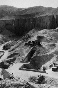 Scavi dell'area archeologica di Carter nella Valle dei Re (1922). Tombe di Ramsete VI e Tutankhamon