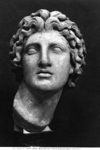 Busto di Alessandro Magno