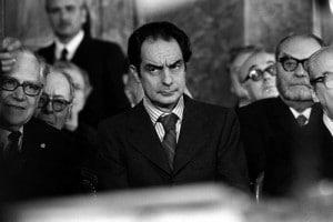 Lo scrittore Italo Calcino in un'immagine d'archivio