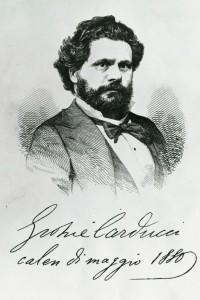 Ritratto di Giosuè Carducci