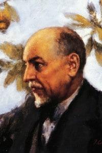 Ritratto di Luigi Pirandello, conservato alla Biblioteca Comunale Di Palermo