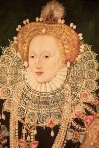 Elisabetta I, alla morte della quale succederà al trono Giacomo I, non altrettanto amato dal popolo