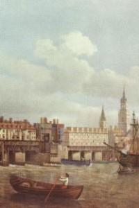 Old London Bridge nel 1700