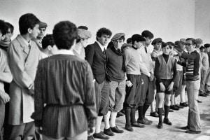 Pasolini in una foto di scena del film 'Pasolini prossimo nostro' di Giuseppe Bertolucci
