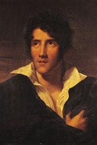 Ritratto di Alessandro Manzoni attribuito a  Maria Louisa Catherine Cecilia Cosway