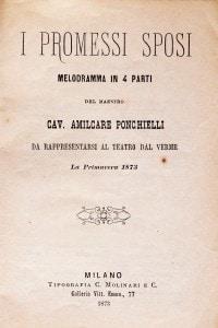 Copertina di una trasposizione teatrale dell'opera