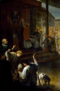 La Peste di Milano del 1630 in un affresco di Luigi Vacca