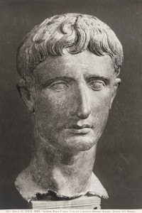 Testa di Ottaviano Augusto, conservata ai Musei Vaticani