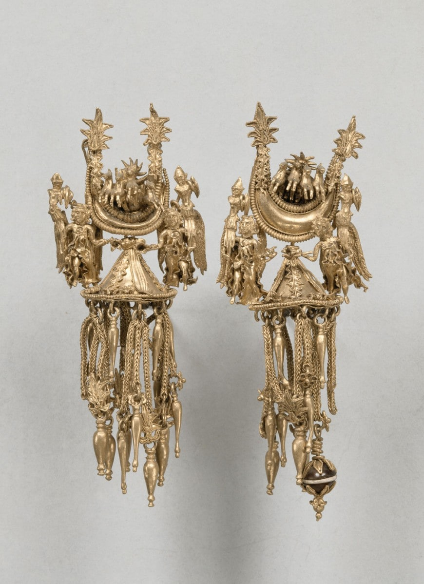 Orecchini in oro