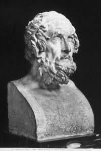 Omero, grande poeta greco