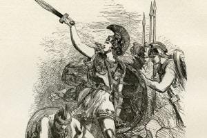 Achille, illustrazione