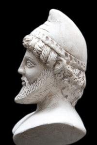 Antica statua di Ulisse