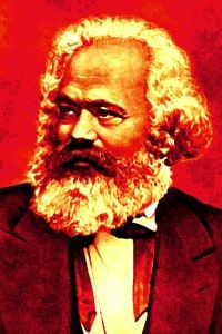 Ritratto di Karl Marx