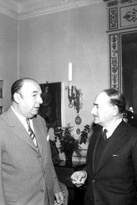 Pablo Neruda e Salvatore Quasimodo