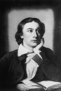 Il poeta romantico John Keats (1795 - 1821)