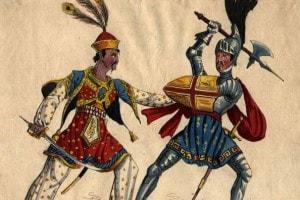 Le Crociate e la Terra Santa fanno da sfondo all'intero poema di Tasso
