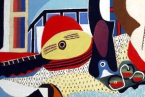 Il cubismo. Mandolino e chitarra di Pablo Picasso