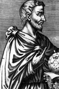 Immagine del filosofo greco Pitagora