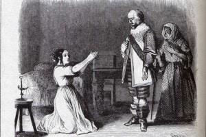 Una delle immagini di Lucia ne I promessi sposi di Manzoni