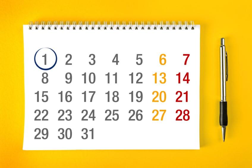 Calendario 2019 Con Numero Di Settimana.Calendario Scolastico 2017 2018 Date Di Inizio Scuola