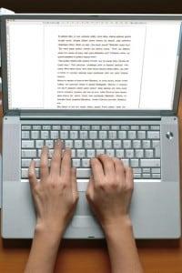 Dopo aver pianificato la scaletta, resta la parte più difficile: scrivere!
