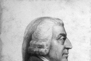 Adam Smith, filosofo ed economista scozzese, teorico della macroeconomia.