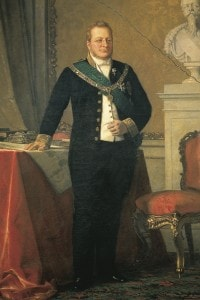 Ritratto di Camillo Benso conte di Cavour