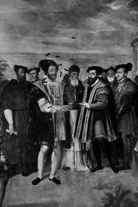 Francesco I e Carlo V, rivali storici