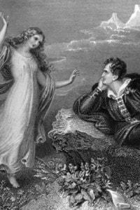 George Gordon Noel Byron, conosciuto come Lord Byron (1788 - 1824), viene visitato dalla sua musa
